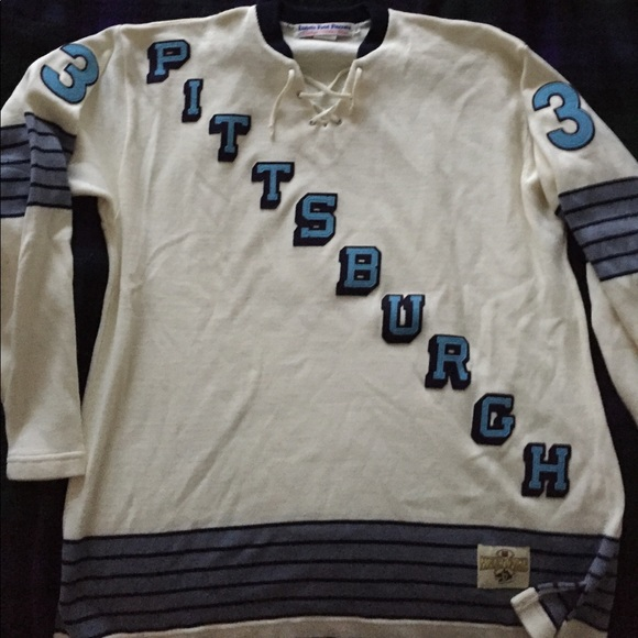bb08fdc8a Ebbets Field Flannels Other - Pittsburgh Penguins NHL Sweater by Ebbets  Field